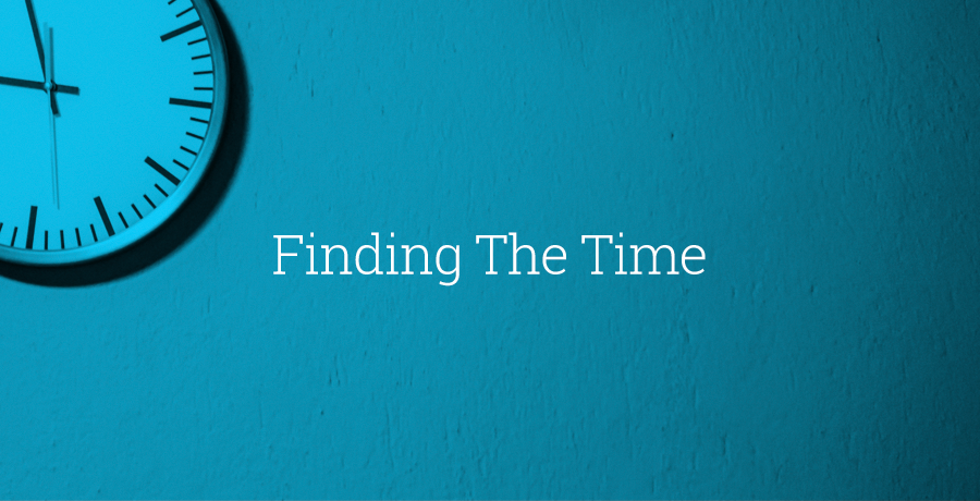 Finding The Time to Change Your Business