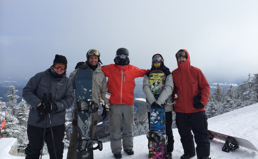 Founding group of Big Snow Tiny Conf 2014